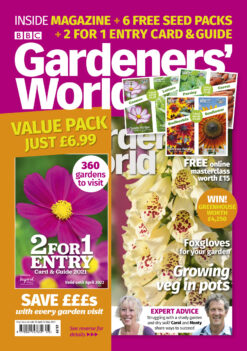 Gardeners World May 2 for 1 special issue